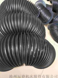 防尘三防布油缸防护罩 沧州嵘实油缸防护罩