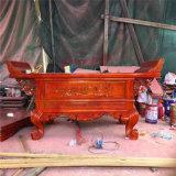溫州供桌廠家,寺廟木雕供桌生產廠家,元寶桌雕刻廠
