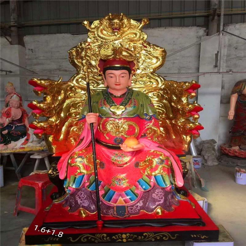 昌东生产道教娘娘神像 玻璃钢王母娘娘神像供货厂家