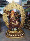 大型铜佛像生产 正宗藏佛铜雕塑铜铸工艺品莲花生