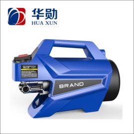 华勋HUAXUN 感应电机高压清洗机 手提小巧 动力强劲 经久耐用 洗车神器 HXS160B