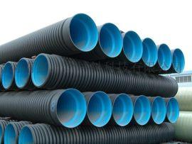 市政排水用HDPE双壁波纹管 排水排污管材