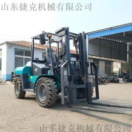 厂家直销 3吨柴油四驱越野叉车 装车用堆高叉车