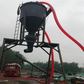 风力卸料自动抽灰机船运散料环保无尘抽送装车机