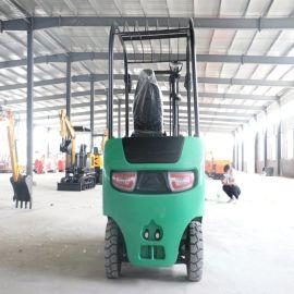 四轮叉车 1吨1.5吨小型电动叉车 液压升降装卸车