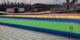 湖北荆州网红桥充气蹦蹦床游乐设备