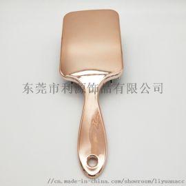 UV電鍍高檔大板梳按摩頭皮順發梳 出口品質
