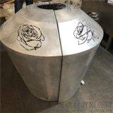 福源雨棚鏤空雕刻2.0鋁單板,典型鏤空雕刻鋁單板,