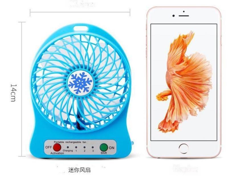 Usb可充電迷你電風扇跑江湖地攤15元模式新奇暴利產品貨源