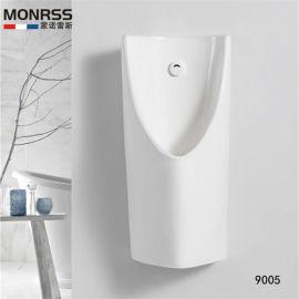 厂家直发蒙诺雷斯9005陶瓷一体式自动感应小便斗