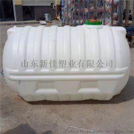 2000L塑料桶2000公斤化工桶卧式塑料桶