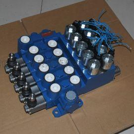 SDFDL12-5手动电控多路换向阀