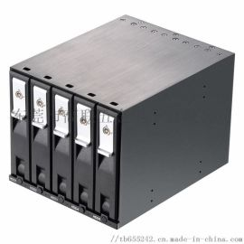 5x3.5寸光驱SATA/SAS免工具内置硬盘抽取盒