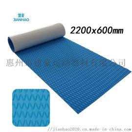 可拼接EVA冲浪板止滑垫抗紫外线SUP划水板防滑垫