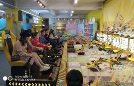 童牛亲子工程乐园加盟儿童互动益智挖掘机项目驾驶舱