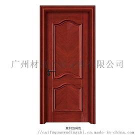 中式木门室内强化生态木门定制 木门厂家 杉木实木门