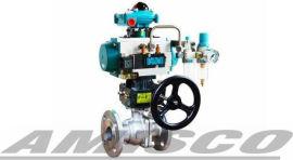 美国AMISCO进口气动调节球阀
