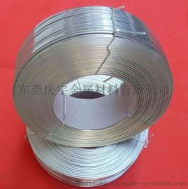 不锈钢扁线0.1*0.6mm弹簧扁线不锈钢线