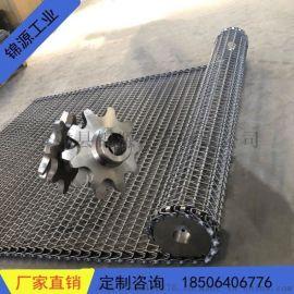 不锈钢网带链轮双节距工业输送齿轮耐磨滚子传动齿轮