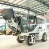 岳工混泥土自上料攪拌車 建筑工地自动上料机