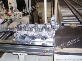 广州齿轮箱装配线,佛山减速箱自动生产线,气缸滚筒线