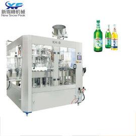 液体灌装机 全自动啤酒饮料矿泉水灌装生产线厂家直供