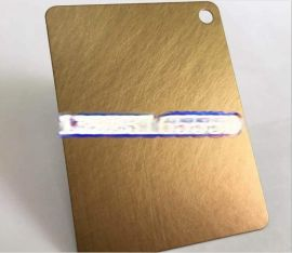 不锈钢镀铜板加工厂 不锈钢仿古铜板定制