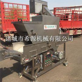 2020批量生产 全自动上浆裹糠机油炸机 上粉机