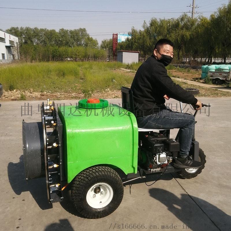 风送式喷雾打药机操作视频 农用三轮柴油打药机