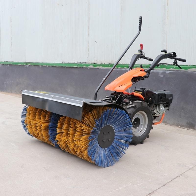 **操场手推式扫雪机 全自动冰雪路面清理机 捷克