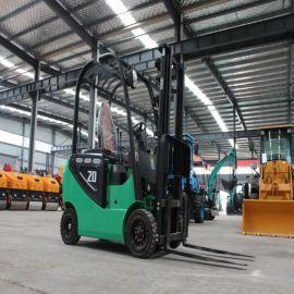 1吨小型四轮电动叉车 2吨1.5吨3吨全电动液压搬运车