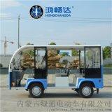 电动观光车8座 电动旅游观光车开放式