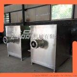 厂家直供多种型号冻肉绞肉机 香肠馅料绞肉设备