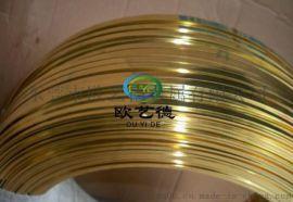 高精密CuZn20黄铜线 半硬态/软/全硬黄铜丝