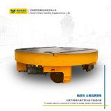 云南电动轨道车转运转盘 变轨盘30吨电动转盘工业