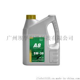埃孚天然氣全合成汽機油,A8系列SP級別