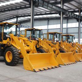 小型四轮工程铲车 多功能小型农用装载机