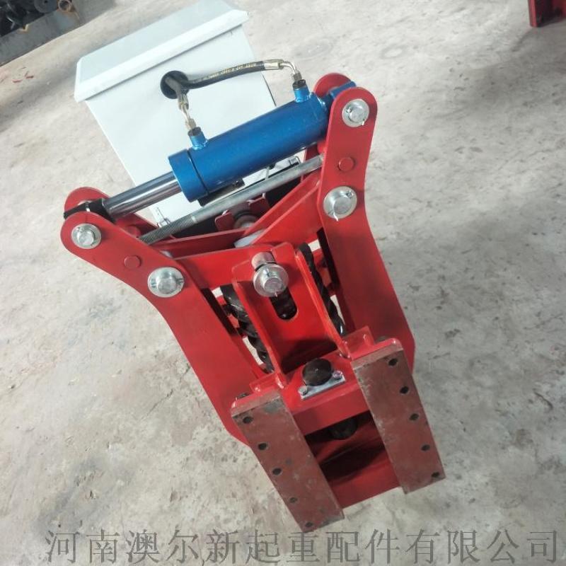 QHTJ-120型分体式液压夹轨器 双弹簧夹轨器