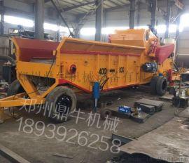 郑州鼎牛机械直营柴油式移动木材综合破碎机
