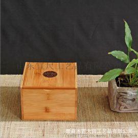 定做竹木实木首饰收纳盒戒指耳钉首饰盒