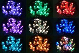 RGBw灯串, 导光柱灯泡, LED灯串, 花园景观灯