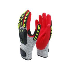 五級防切割抗沖擊TPR手套