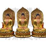 东方三圣佛像 药师三尊雕塑