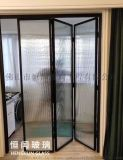 藝術玻璃隔斷移門淋浴房玄關