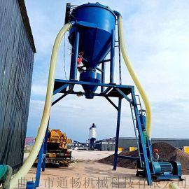 自动吸送水泥干粉装罐车吸料机环保无扬尘风力吸灰机