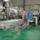刀鱼段上糠机 深海鱼产品裹糠加工机器