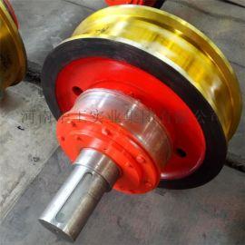 现货铸钢车轮组 起重机车轮组 起重机配件厂家