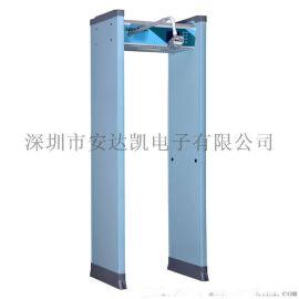 中文显示金属检测门厂家 筛选体温快速检测 金属检测门