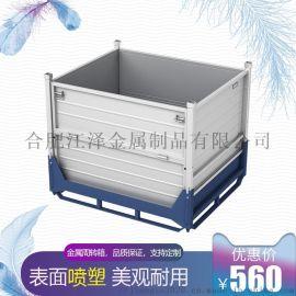 汽车零部件钢制料箱-铁料箱厂家直销-合肥江泽金属