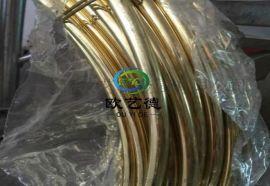 现货高光亮黄铜丝 C2680黄铜圆线厂家